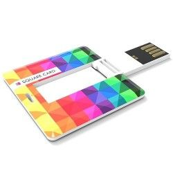 Memoria USB Stick Square Card